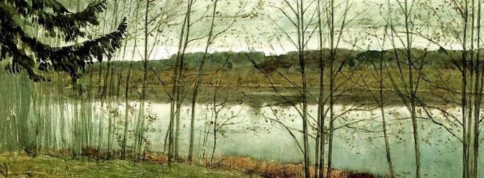 Исаак Левитан. Осень.