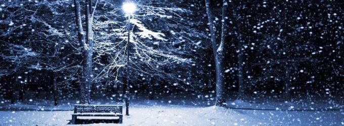 Летят снежинки