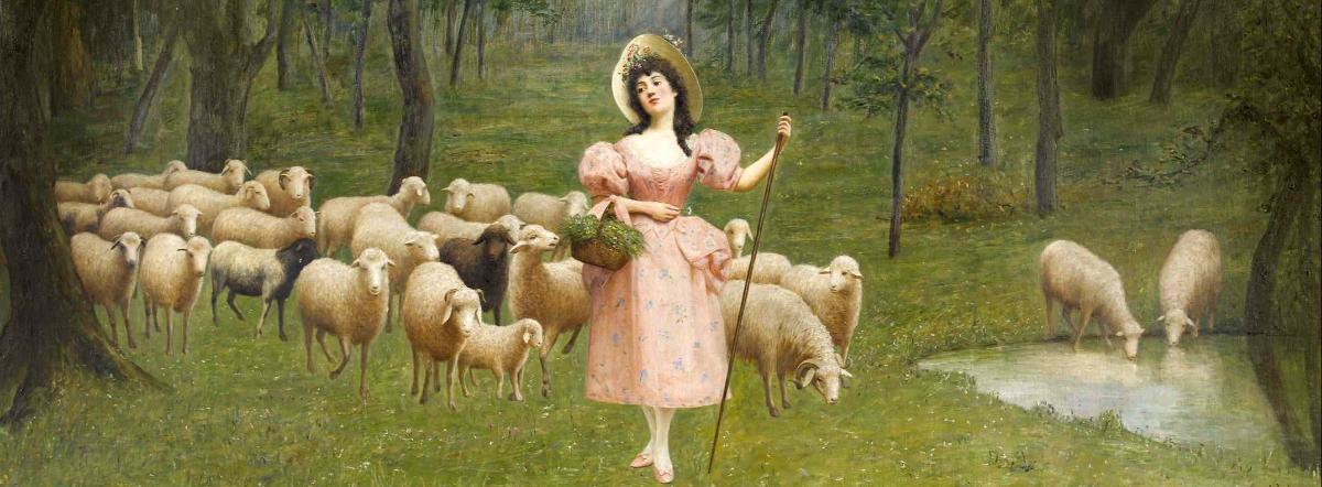 Пастух и пастушка краткое содержание