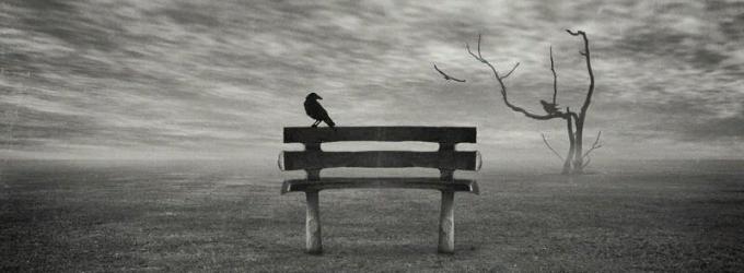 Когда остается один, человек...