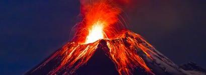 Девушка-вулкан