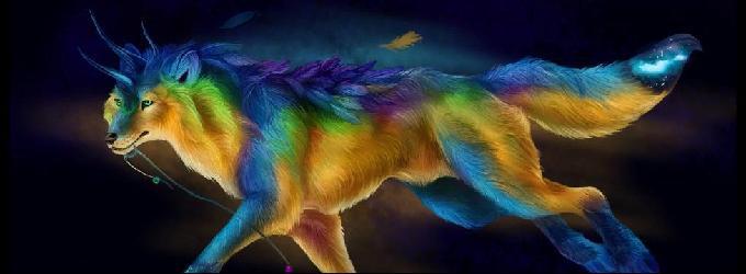 Волк стихий