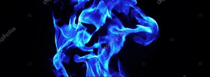 Голубой огонь - огоньбоглюбовь