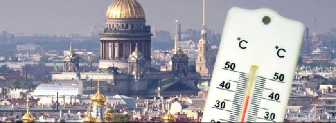 Петербург жаркий июль 2018 года