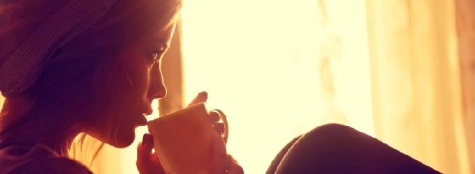 Чашка кофе бессонное утро