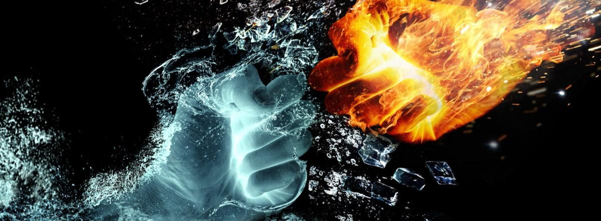Fire And Ice - fire, and, ice