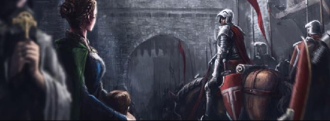 Обет - рыцарь, о любви