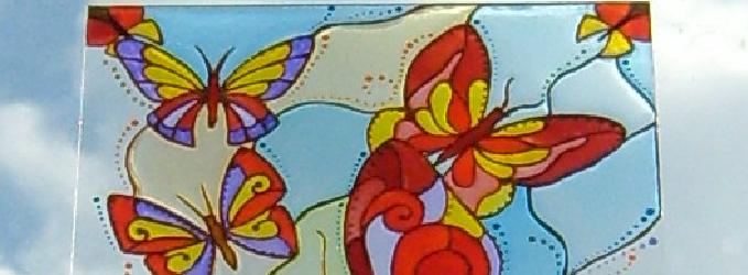 Бабочка в окне - бабочкамартвеснакрылышкигрань