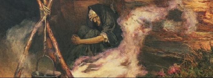 Разговор с ведьмой - ведьма, Мистика, диалог