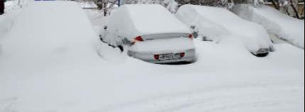 Snow Fall In Russia.