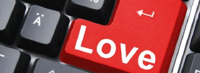 Любовь с соц сетях
