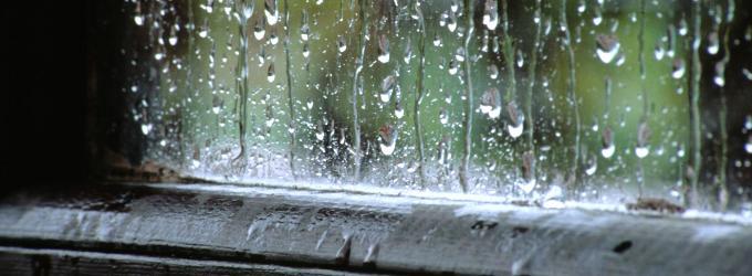 Летний дождик освежил город блёклый…