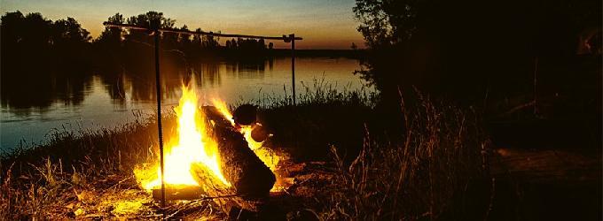 Ночью у реки