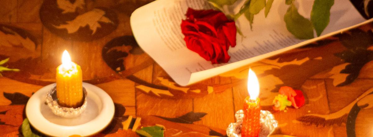 Бессмертник и незабудка - волшебство