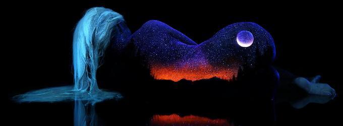 С луной на горячем льду - поэзи, лирика, мистика