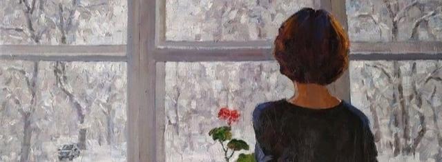 Белоснежье из окна