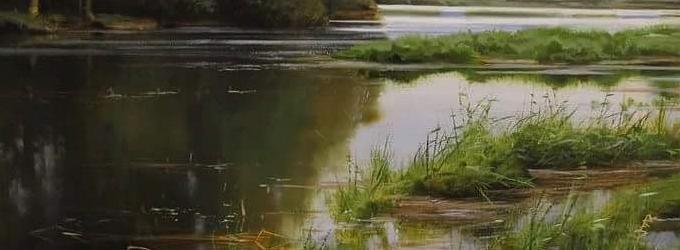 Тиха зелёная вода