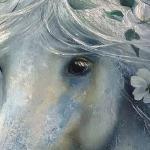 Лошади белые