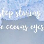 Ocean Eyes (перевод песни Billie Eilish)