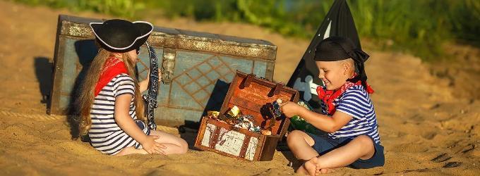 Маленькие пираты - детство, детскиестихи, стихидлядетей, дети, #поэзия