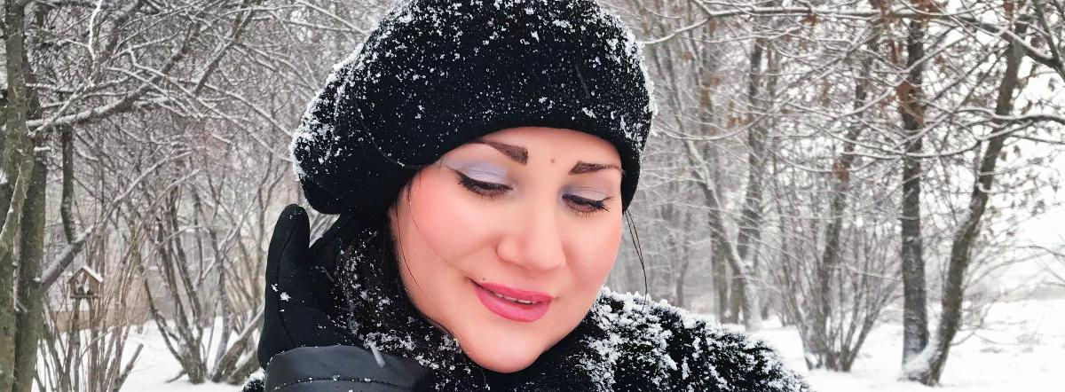 Январским снегопадом
