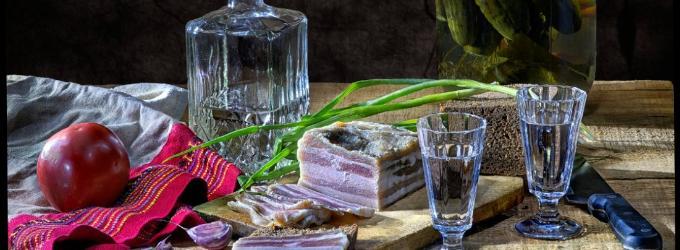 Водки пляшка и кусочек сала - семья,nazaretianin,конкурс,субботнийконкурс