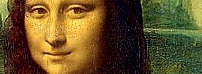 "Картина Леонардо да Винчи ""Мона Лиза ""."