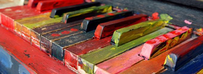 Пианистка.