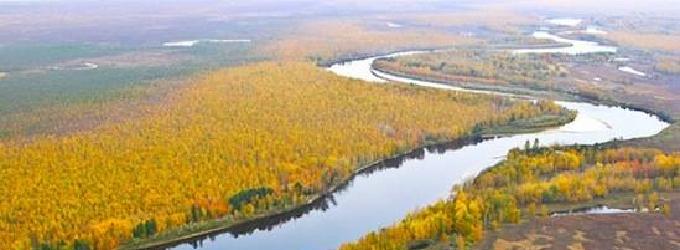 Реки сибирских просторов