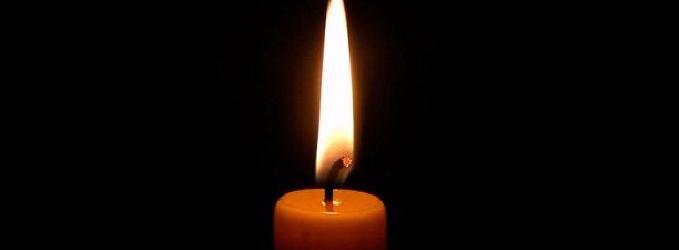 Настал дождливый вечер - проза,свеча