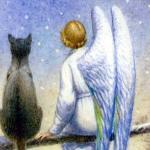 Кошка и ангел