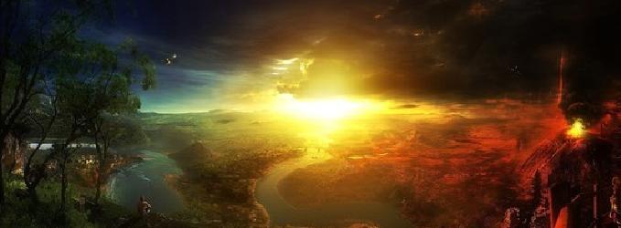 Медленно падает Солнце