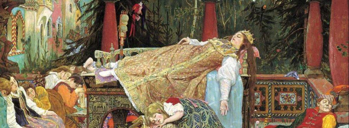 Спящая царевна - жуковский василий андреевич, сказка, жуковский, стихи жуковского