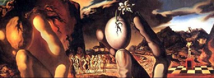 Метаморфозы Нарцисса Дали