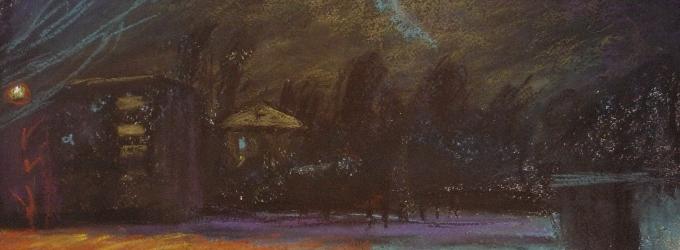 Ночь - ночь, философская лирика