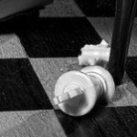 На шахматной доске...