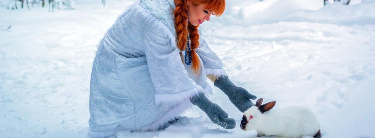 Снегурочка - снегурочка, сказка