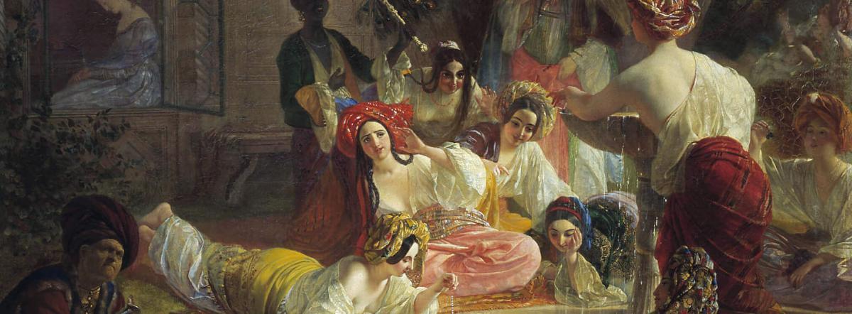 Бахчисарайский фонтан - пушкин, стихи пушкина