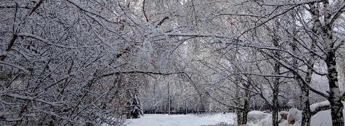 валит стеною снег...