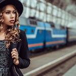 На железной дороге