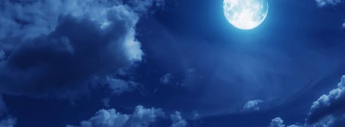 Лунной ночью - пейзажная лирика