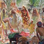Великая неделя ... Въезд в Иерусалим