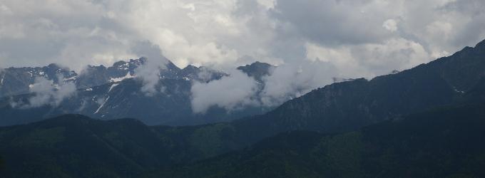 Горы рая - красота, творчество, горы, полетмысли