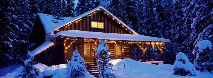 Снежная ночь - зима,снег,пейзажнаялирика