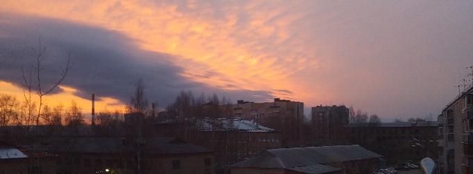 Пусть небо вместо потолка...