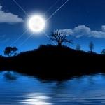 Лунная ночь в сентябре и нежна и тиха