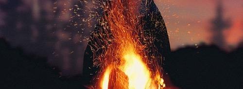 С пожаром внутри
