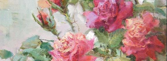 Проснулся сад под брызгами росы