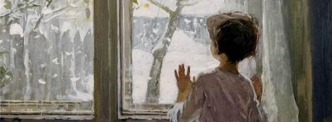 Рисунки на окне