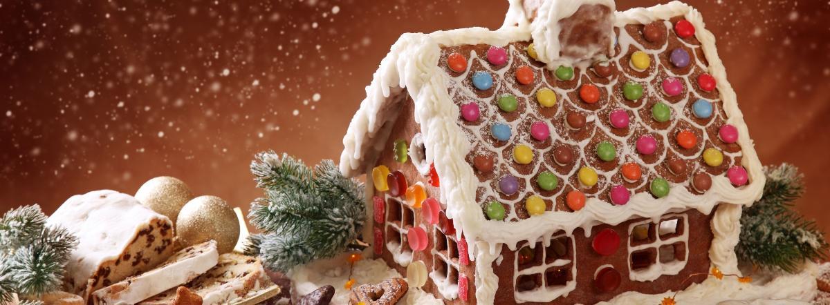 Строим домик из печенья